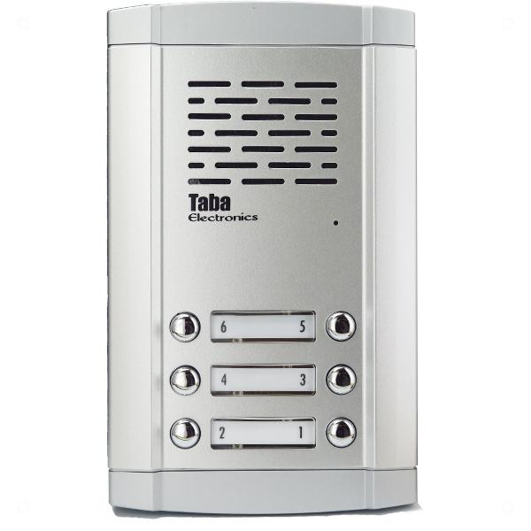 پنل آیفون صوتی تابا 6 واحدی