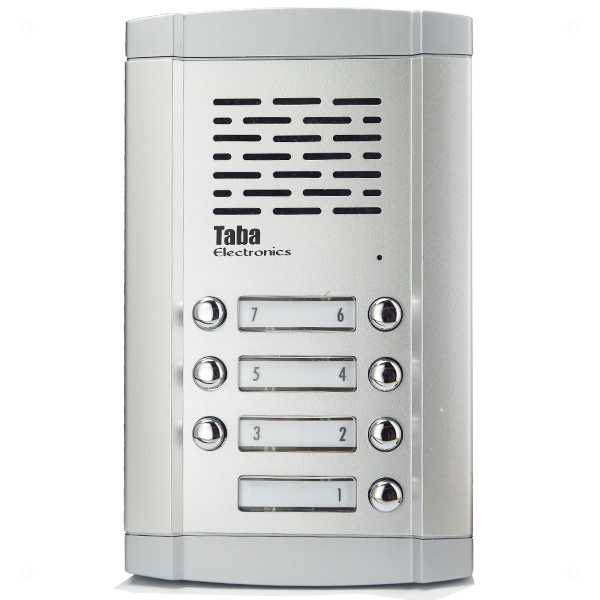 پنل آیفون صوتی تابا 7 واحد